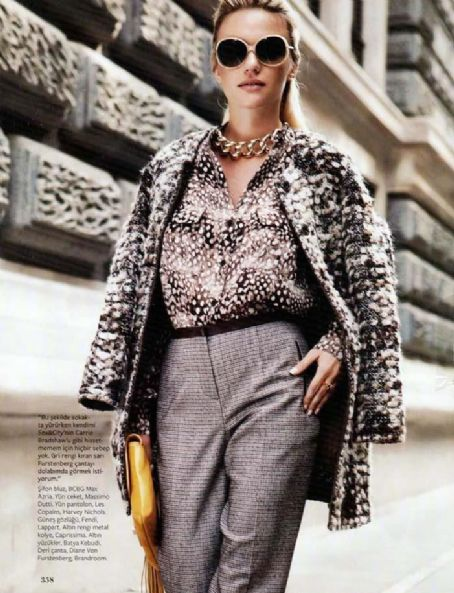 Ecem Karavus  - InStyle Magazine Pictorial [Turkey] (September 2012)