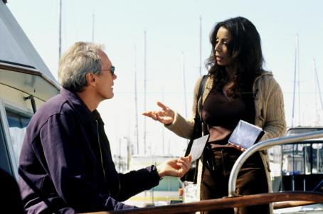 Wanda De Jesus Clint Eastwood and  in Warner Brothers' Blood Work - 2002