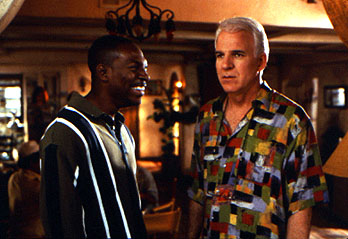 Bowfinger Eddie Murphy and Steve Martin in