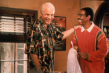 Bowfinger Steve Martin and Eddie Murphy in