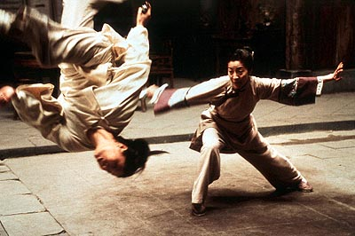 Michelle Yeoh Zhang Ziyi and  in Sony Pictures Classics' Crouching Tiger, Hidden Dragon - 2000