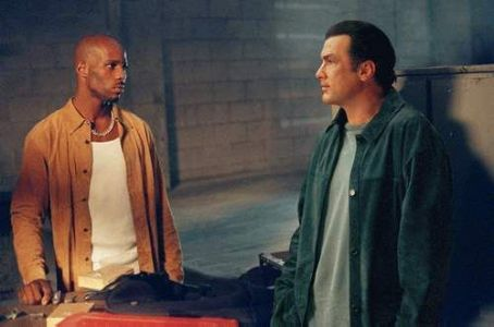 DMX  and Steven Seagal in Warner Brothers' Exit Wounds - 2001