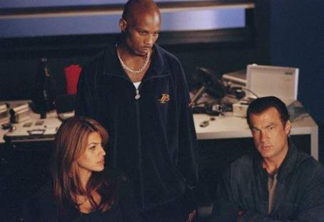 Steven Seagal Eva Mendes, DMX and  in Warner Brothers' Exit Wounds - 2001