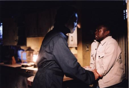 Sean Patrick Thomas Michael Myers and  in Dimension's Halloween: Resurrection - 2002