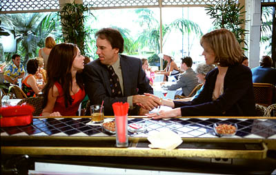 Kevin Nealon Jennifer Love Hewitt,  and Sigourney Weaver in MGM's Heartbreakers - 2001