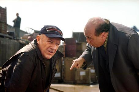 Gene Hackman  and Danny DeVito in Warner Brothers' Heist - 2001
