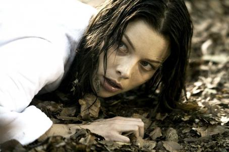 Beth (Lauren German) in HOSTEL: PART II. Photo credit: Rico Torres.