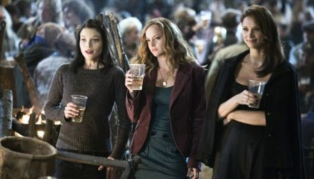 Lauren German Beth (), Whitney (Bijou Phillips) and Axelle (Vera Jordanova) in Hostel: Part II.
