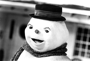 Jack Frost Michael Keaton is reincarnated as a snowman in Warner Brothers'  - 1998