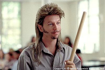 Joe Dirt Emmy Award-nominated actor/comedian David Spade stars as janitor  in the Columbia Pictures presentation,  - 2001