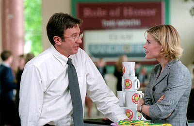 Julie Bowen Tim Allen and  in 20th Century Fox's Joe Somebody - 2001