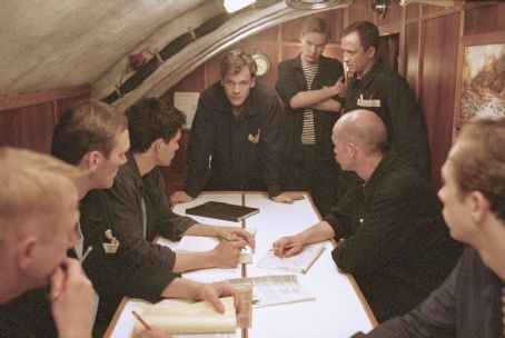 Christian Camargo Gerrit Vooren as Voslensky, Ingvar Sigurdsson as Gorelov,  as Pavel, Peter Sarsgaard as Vadim, (arms crossed) James Ginty as Anatoly, Ravil Isyanov as Suslov, George Anton as Konstantin and Kristen Holden-Ried as Anton in Paramount's
