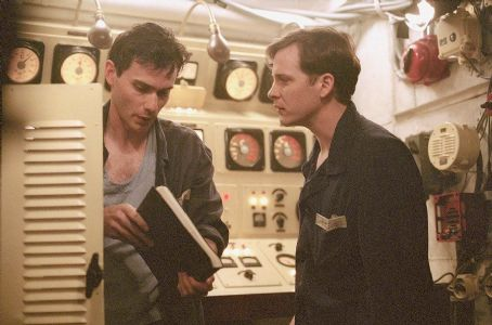 Christian Camargo  as Pavel and Peter Sarsgaard as Vadim in Paramount's K-19: The Widowmaker - 2002