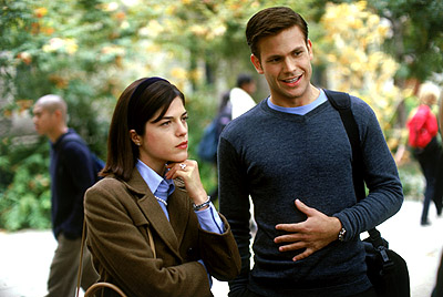 Matthew Davis Selma Blair and  in MGM's Legally Blonde - 2001