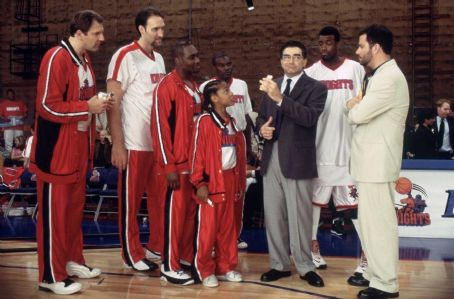 Morris Chestnut Diminutive Calvin Cambridge (Lil Bow Wow, center) makes a big impression on Los Angeles Knights general manager Frank Bernard (Eugene Levy, right), Knights superstar Tracy Reynolds (, left), the commercial client (Jimmy Kimmel, right) and t