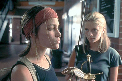 Lost and Delirious Piper Perabo and Mischa Barton in Lions Gate's  - 2001