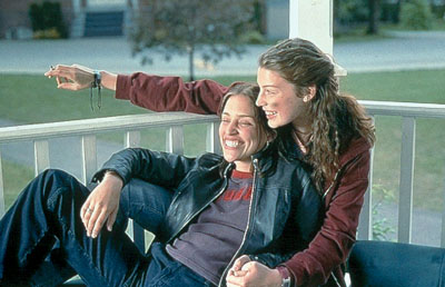 Lost and Delirious Piper Perabo and Jessica Pare in Lions Gate's  - 2001
