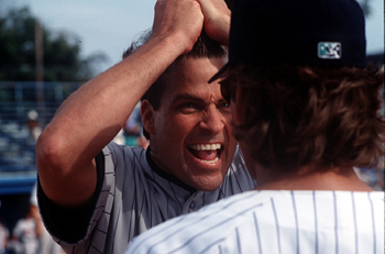 Ted McGinley  as Leonard Huff in Warner Brothers' Major League: Back To The Minors - 1998