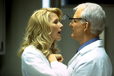 Novocaine Laura Dern and Steve Martin in Artisan's  - 2001