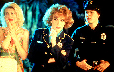 Psycho Beach Party Beth Broderick, Charles Busch and Jenica Bergere in Strand's  - 2000