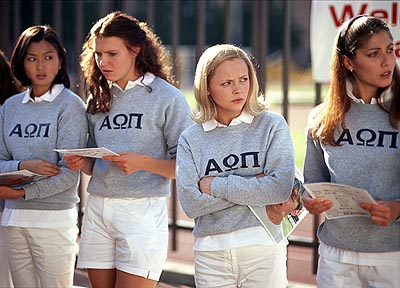 Dominique Swain Michelle Krusiec, , Christina Ricci and Marisa Parker in United Artists' Pumpkin - 2002