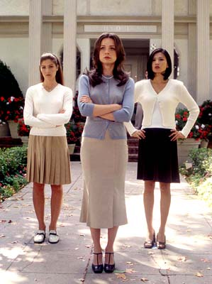 Marisa Coughlan Marisa Parker,  and Michelle Krusiec in United Artists' Pumpkin - 2002