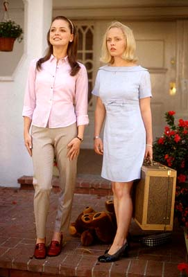 Marisa Coughlan  and Christina Ricci in United Artists' Pumpkin - 2002