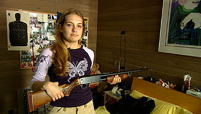 Merritt Wever  as 17-year-old Lindsay in USA Films Series 7 - 2001