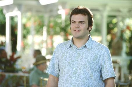 Shallow Hal Jack Black as Hal in 20th Century Fox's  - 2001