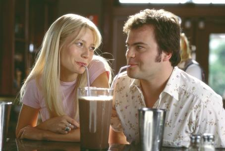 Shallow Hal Gwyneth Paltrow and Jack Black in 20th Century Fox's  - 2001