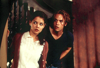 Teaching Mrs. Tingle Katie Holmes and Barry Watson in  - 8/99