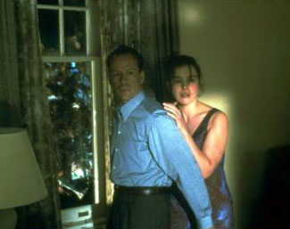 Olivia Williams Bruce Willis and  in The Sixth Sense