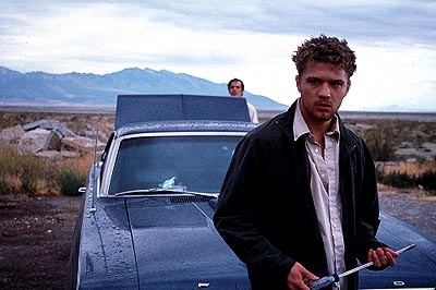 The Way of the Gun Ryan Phillippe as Parker in Artisan's The Way Of The Gun - 2000