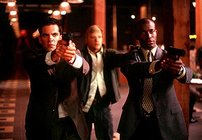 Nicky Katt , Ryan Phillippe and Taye Diggs in Artisan's The Way Of The Gun - 2000