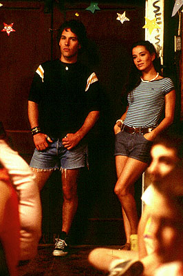Wet Hot American Summer Paul Rudd and Marguerite Moreau in USA Films'  - 2001