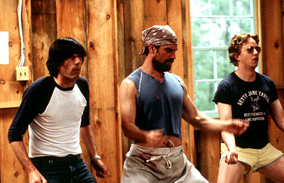 Wet Hot American Summer Michael Showalter, Christopher Meloni and A.D. Miles in USA Films'  - 2001