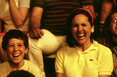 Wet Hot American Summer Gideon Jacobs and Molly Shannon in USA Films'  - 2001