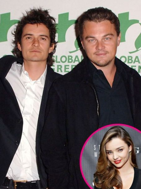 Leonardo Dicaprio & Orlando Bloom: Friends Fighting Over Miranda Kerr