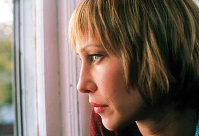 The Opportunists Vera Farmiga as Miriam Kelly, Vic's daughter and the glue that keeps the family together in First Look's  - 2000