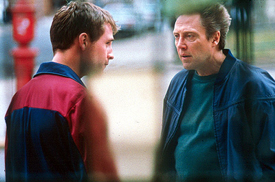 The Opportunists Peter McDonald is Michael Lawler, a young Irishman claiming to be the cousin of Vic (Christopher Walken) who tries to pull him back into the world of crime in First Look's  - 2000
