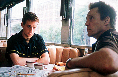 The Opportunists Peter McDonald is Michael Lawler and Christopher Walken is Victor Kelly in First Look's  - 2000