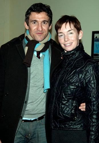 Jonathan Cake  and wife, actress Julianne Nicholson