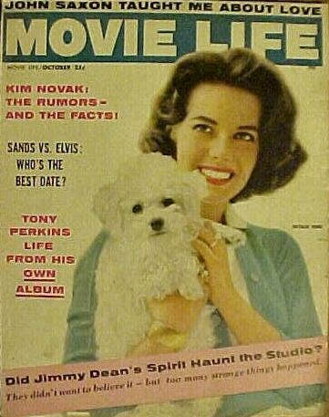 Natalie Wood - Movie Life Magazine Cover [United States] (October 1957)