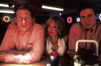 Kevin Mitchell, Rosanna Arquette and Matt Mitchell in IFC Films' Big Bad Love - 2001