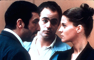 Leticia Brédice Ricardo Darin, Gaston Pauls and Leticia Bredice in Nine Queens - 2002