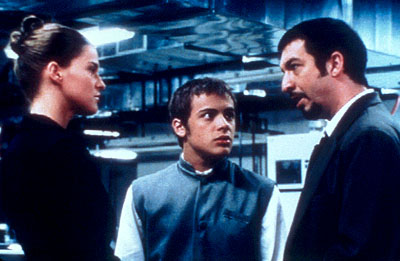 Leticia Brédice Leticia Bredice, Tomas Fonzi and Ricardo Darin in Nine Queens - 2002