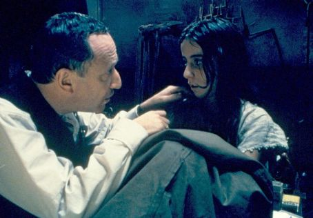Allan Corduner  and Kamelia Grigorova in Lions Gate's The Grey Zone - 2001