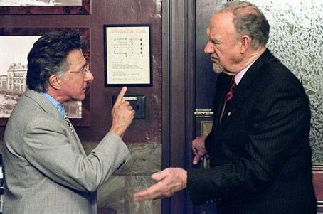 Runaway Jury Dustin Hoffman and Gene Hackman in The  - 2003