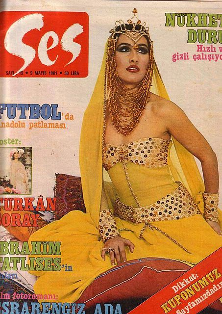 Nükhet Duru - Ses Magazine Cover [Turkey] (9 May 1981)