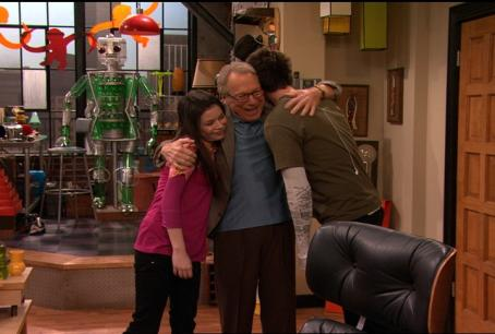 Jerry Trainor Granddad Hug Spencer Carly